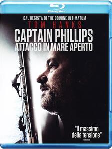Captain Phillips. Attacco in mare aperto di Paul Greengrass - Blu-ray