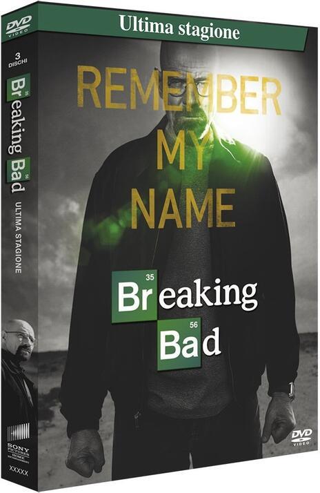 Breaking Bad. Stagione 5. Parte 2 (Serie TV ita) (3 DVD) di Michelle MacLaren,Vince Gilligan,Michael Slovis - DVD