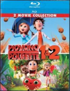 Film Piovono polpette 1 - 2 (2 Blu-ray) Cody Cameron Phil Lord Chris Miller Kris Pearn