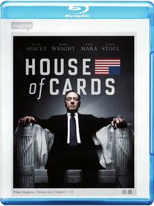 Film House of Cards. Stagione 1 (Serie TV ita) (4 Blu-ray) James Foley Carl Franklin Allen Coulter