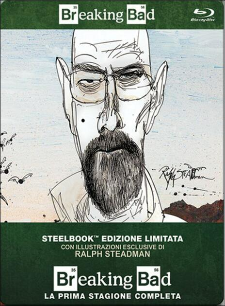 Breaking Bad. Stagione 1<span>.</span> Edizione limitata di Vince Gilligan,Adam Bernstein,Jim McKay,Tricia Brock - Blu-ray