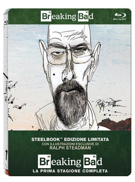 Breaking Bad. Stagione 1<span>.</span> Edizione limitata di Vince Gilligan,Adam Bernstein,Jim McKay,Tricia Brock - Blu-ray - 2