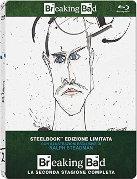 Breaking Bad. Stagione 2 (3 Blu-ray)<span>.</span> Edizione limitata di Bryan Cranston,Charles Haid,Terry McDonough,John Dahl - Blu-ray
