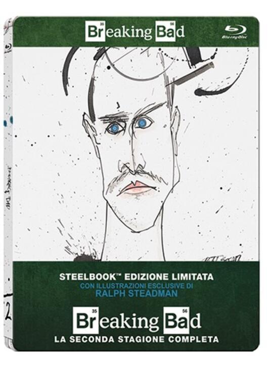 Breaking Bad. Stagione 2 (3 Blu-ray)<span>.</span> Edizione limitata di Bryan Cranston,Charles Haid,Terry McDonough,John Dahl - Blu-ray - 2