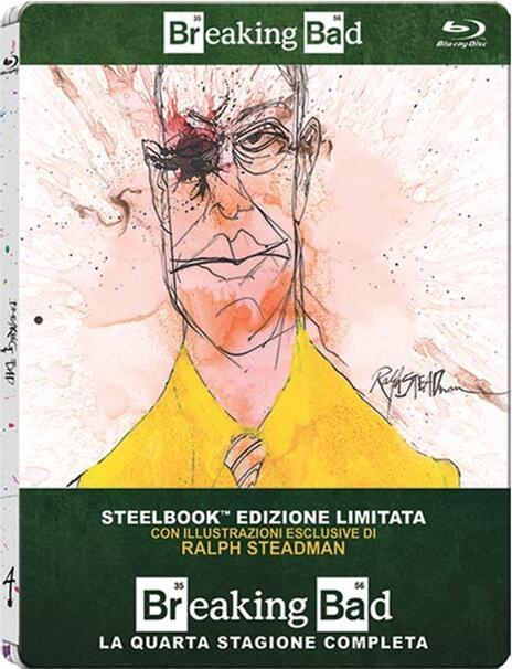 Breaking Bad. Stagione 4 (3 Blu-ray)<span>.</span> Edizione limitata di Adam Bernstein,Michelle MacLaren,David Slade,Colin Bucksey - Blu-ray