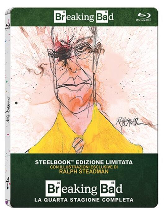 Breaking Bad. Stagione 4 (3 Blu-ray)<span>.</span> Edizione limitata di Adam Bernstein,Michelle MacLaren,David Slade,Colin Bucksey - Blu-ray - 2