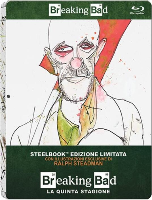 Breaking Bad. Stagione 5. Parte 1 (2 Blu-ray)<span>.</span> Edizione limitata di Michael Slovis,Michelle MacLaren,Adam Bernstein - Blu-ray