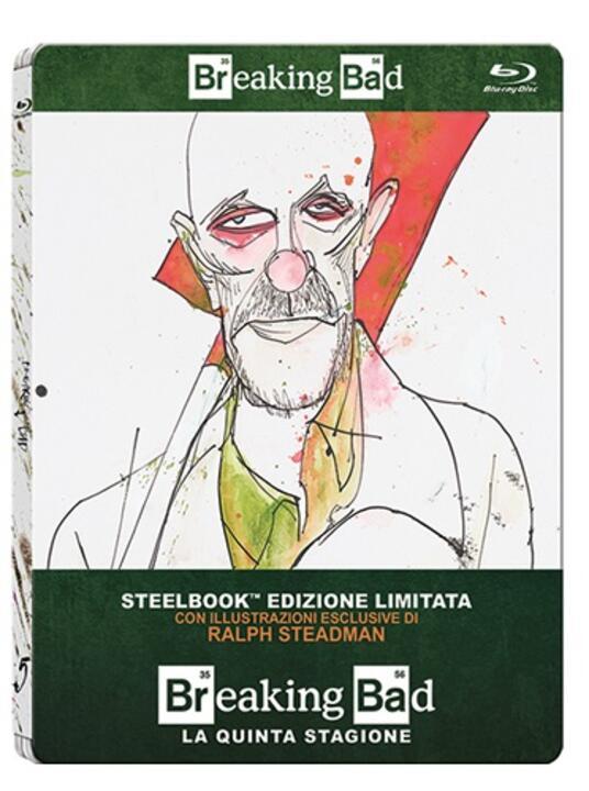 Breaking Bad. Stagione 5. Parte 1 (2 Blu-ray)<span>.</span> Edizione limitata di Michael Slovis,Michelle MacLaren,Adam Bernstein - Blu-ray - 2
