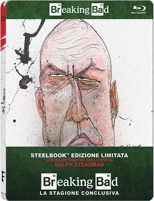 Breaking Bad. Stagione 5. Parte 2 (3 Blu-ray)<span>.</span> Edizione limitata di Michelle MacLaren,Vince Gilligan,Michael Slovis - Blu-ray