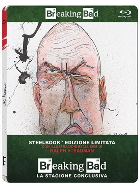 Breaking Bad. Stagione 5. Parte 2 (3 Blu-ray)<span>.</span> Edizione limitata di Michelle MacLaren,Vince Gilligan,Michael Slovis - Blu-ray - 2