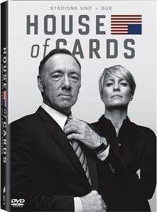 House of Cards. Stagione 1 - 2 (Serie TV ita) (8 DVD) di James Foley,Carl Franklin,Allen Coulter - DVD
