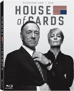 House of Cards. Stagione 1 - 2 (Serie TV ita) (8 Blu-ray) - Blu-ray