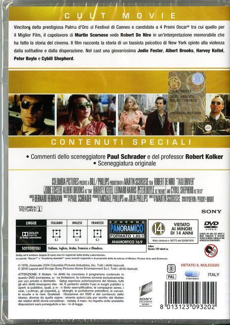 Taxi Driver (DVD) di Martin Scorsese - DVD - 2
