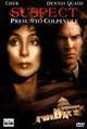 Cover Dvd DVD Suspect - Presunto colpevole
