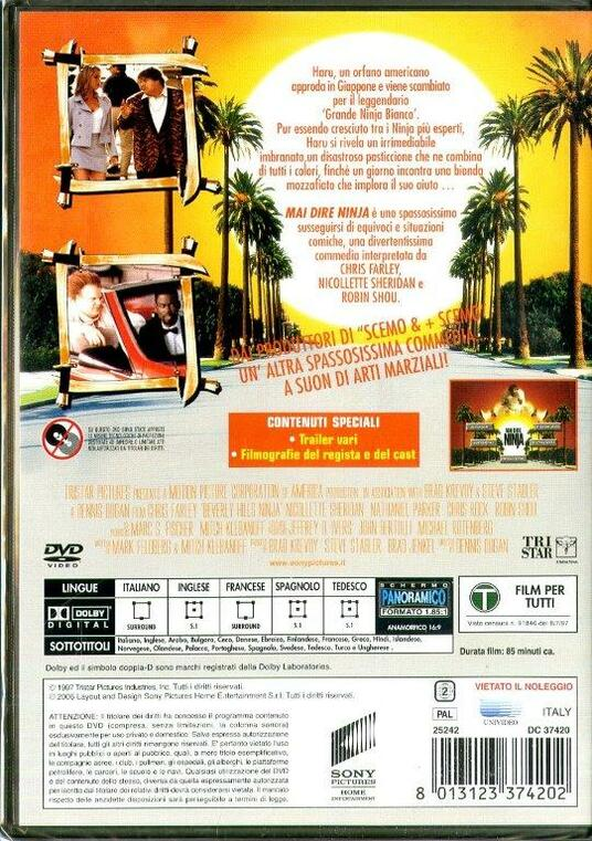 Mai dire ninja di Dennis Dugan - DVD - 2