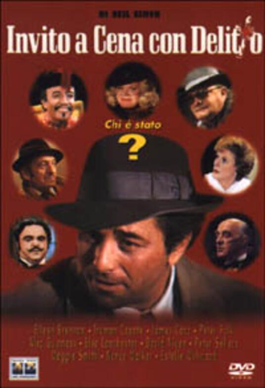 Invito a cena con delitto di Robert Moore - DVD