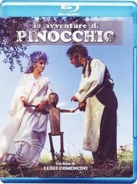 Cover Dvd Le avventure di Pinocchio