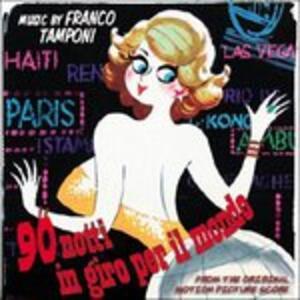 90 Notti in Giro per Il Mondo (Colonna Sonora) - CD Audio di Franco Tamponi