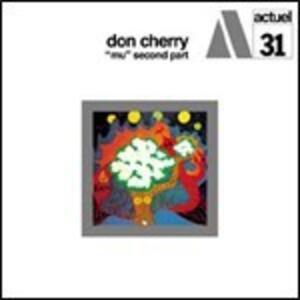 Mu. Second Part - Vinile LP di Don Cherry
