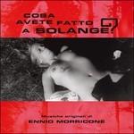 Cover CD Colonna sonora Cosa avete fatto a Solange?