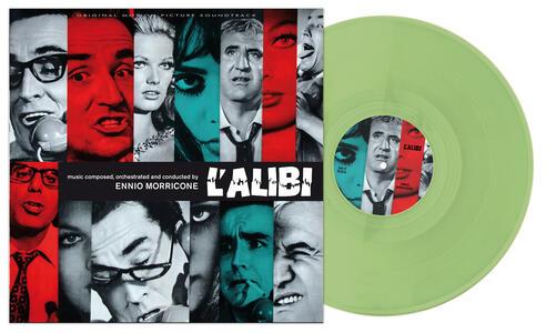 L'alibi (Colonna Sonora) - Vinile LP di Ennio Morricone