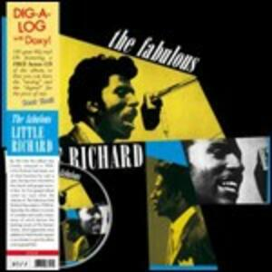 The Fabulous Little Richard - Vinile LP + CD Audio di Little Richard