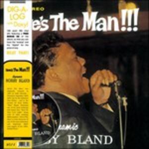 Here's the Man - Vinile LP + DVD di Bobby Bland