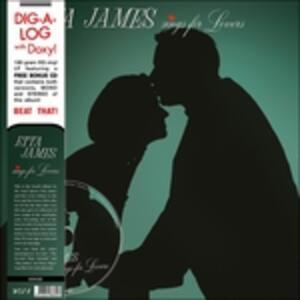 Sings for Lovers - Vinile LP di Etta James