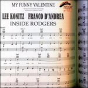 Inside Rodgers - CD Audio di Franco D'Andrea,Lee Konitz