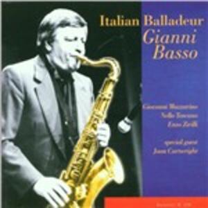 Italian Balladeur - CD Audio di Gianni Basso