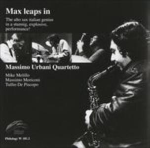 Max Leaps In! - CD Audio di Massimo Urbani