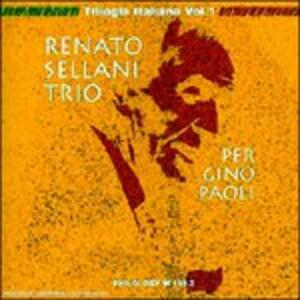 Per Gino Paoli - CD Audio di Renato Sellani