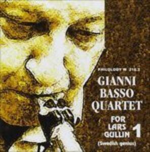 For Lars Gullin vol.1 - CD Audio di Gianni Basso