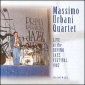 Live Supino Jazz Festival '87 - CD Audio di Massimo Urbani