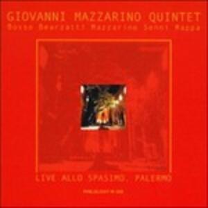Live allo Spasimo Palermo - CD Audio di Giovanni Mazzarino