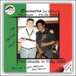 Encontro (On Jobim) - CD Audio di Phil Woods,Irio De Paula