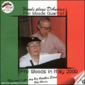 Woods plays D'Andrea - CD Audio di Phil Woods