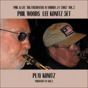 Play Konitz - CD Audio di Lee Konitz,Phil Woods