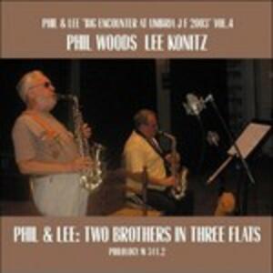 Two Brothers Three Flats - CD Audio di Lee Konitz,Phil Woods