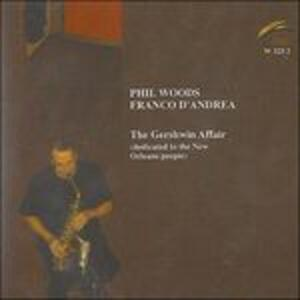 The Gershwin Affair (Dedicated to the New Orleans People) - CD Audio di Franco D'Andrea,Phil Woods