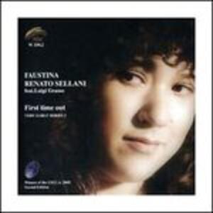 First Time Out - CD Audio di Renato Sellani,Faustina Sellani