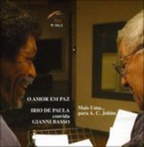 O amor em paz - CD Audio di Gianni Basso,Irio De Paula
