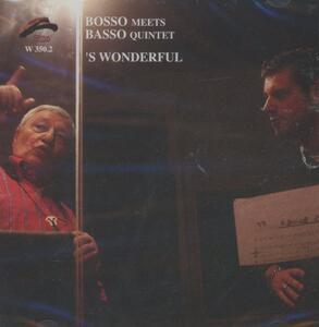 S' Wonderful - CD Audio di Gianni Basso,Fabrizio Bosso