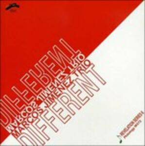 Different - CD Audio di Marcos Jimenez