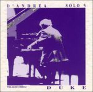 Solo 5. Duke - CD Audio di Franco D'Andrea