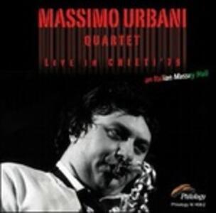 Live in Chieti 1979 - CD Audio di Massimo Urbani