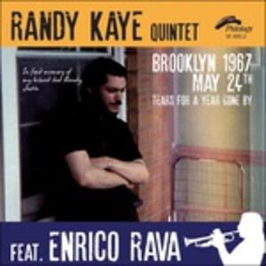Brooklyn 1967, May 24th - CD Audio di Randy Kaye