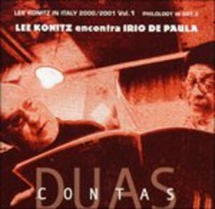 Duas Contas - CD Audio di Lee Konitz,Irio De Paula