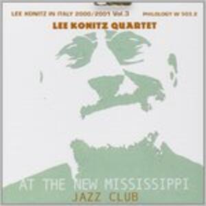 At the New Mississipi - CD Audio di Lee Konitz