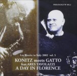 A Day in Florence - CD Audio di Roberto Gatto,Lee Konitz